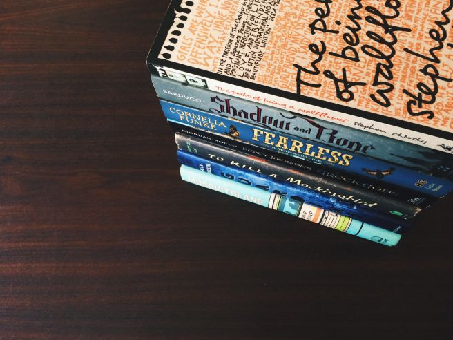 Book Pile 02