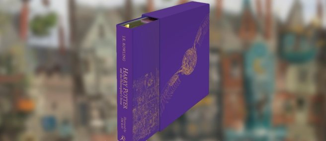 Harry Potter and the Philosopher's Stone Deluxe Illustrated Edition 01