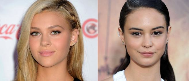 Nicola Peltz and Courtney Eaton