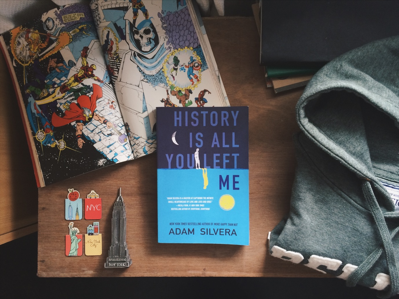 REVIEW: History is All You Left Me by Adam Silvera | Bookish and Awesome