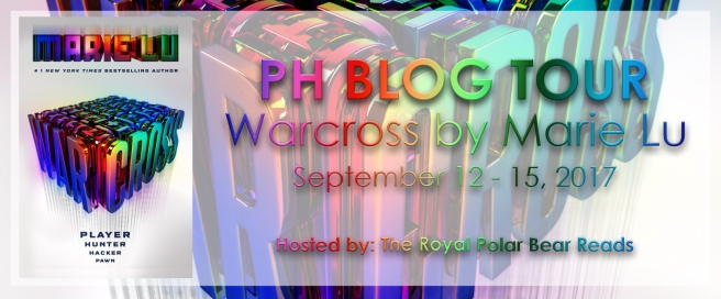 Warcross Blog Tour Banner